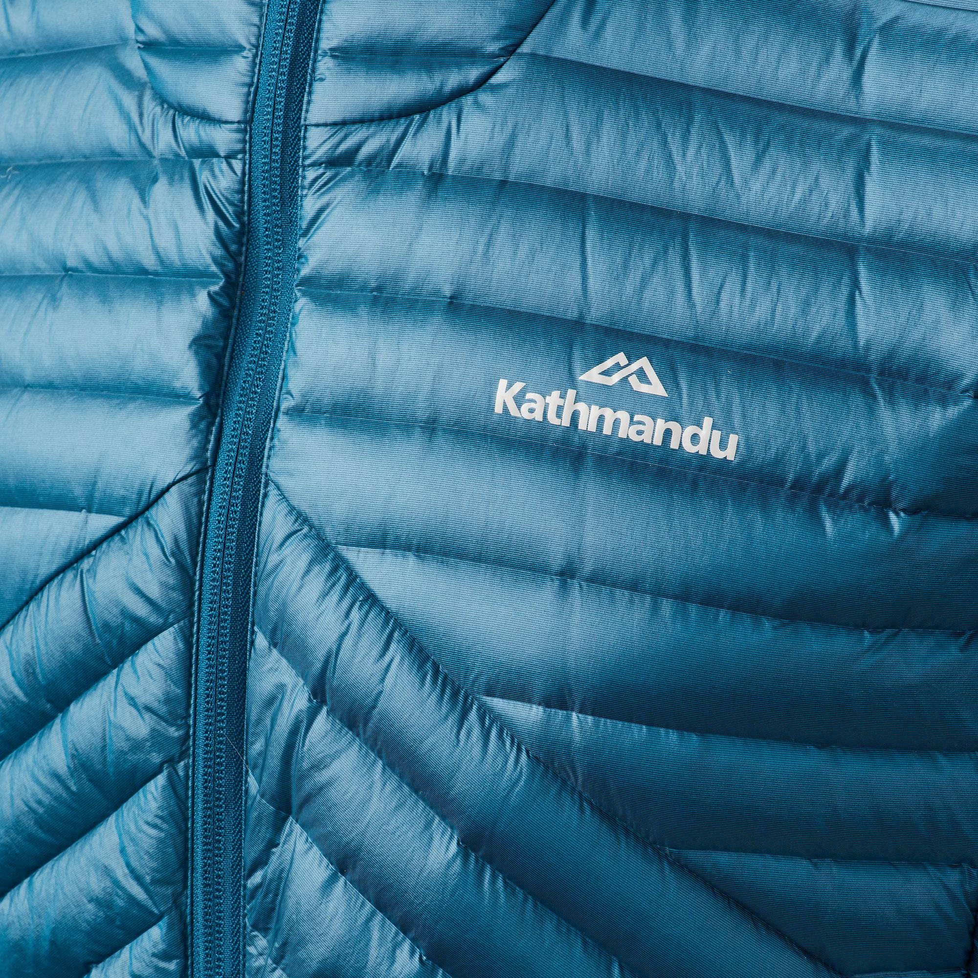thumbnail 17 - NEW Kathmandu Flinders Lightweight Water-Repellent Warm Men's Down Puffer Jacket